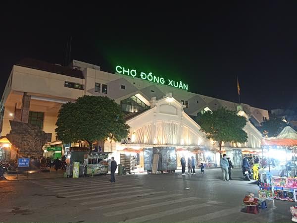 Hanoi-Chợ-Đồng-Xuân-2021